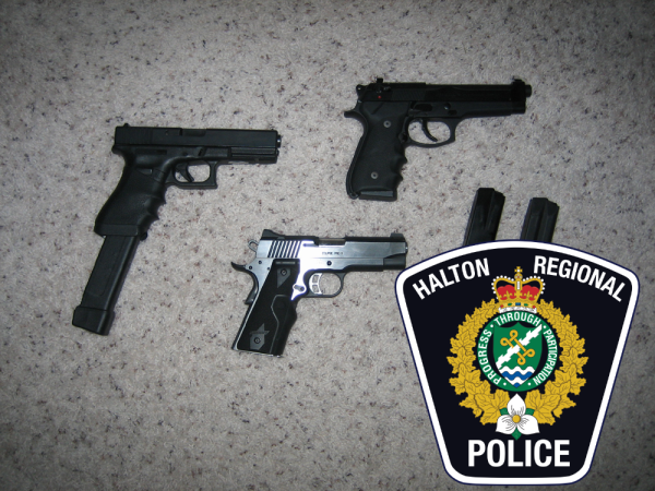 Halton Police Service to Participate in Gun Amnesty Program in April