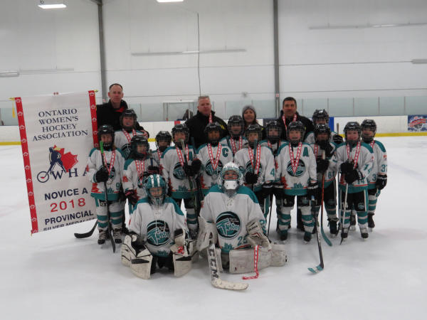 Novice A Twisters Claim Provincial Silver