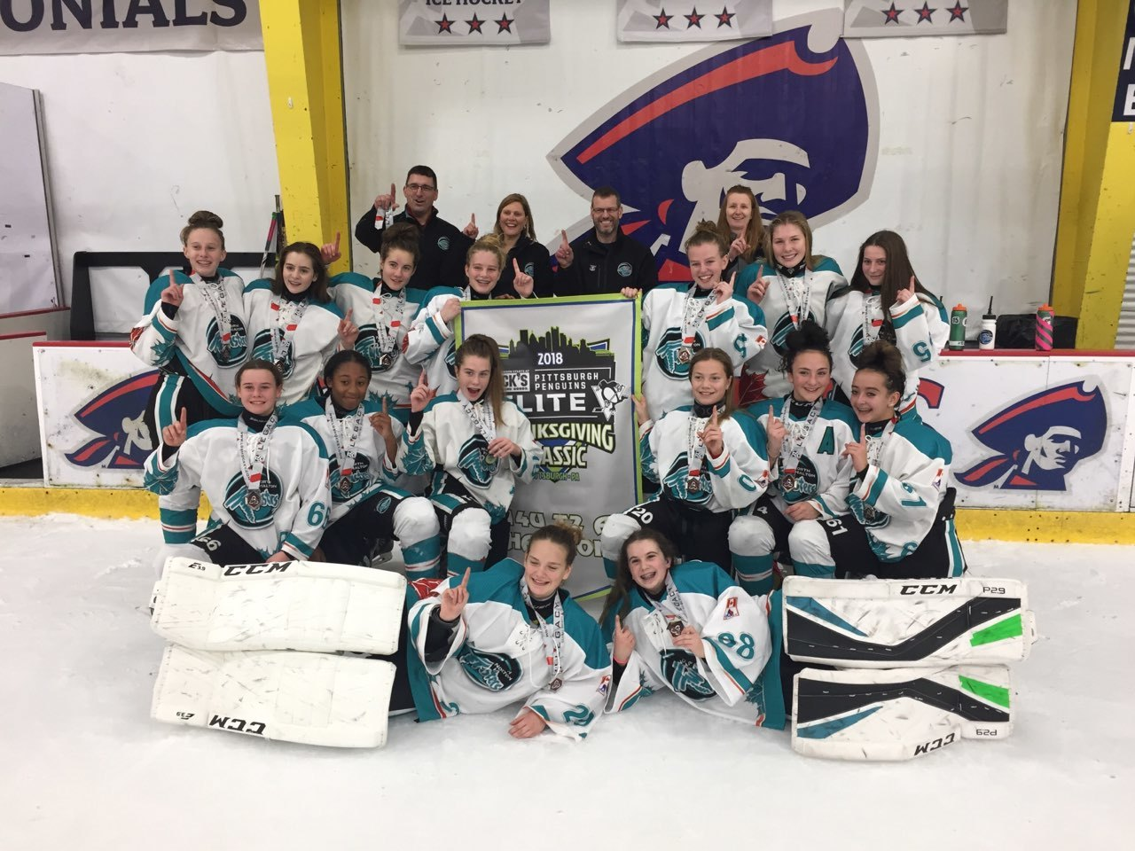 Bantam A Twisters Golden in Pittsburgh